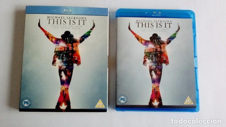 MICHAEL JACKSON THIS IS IT BLU-RAY UK (Música - Videos y DVD Musicales)