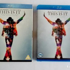 Vídeos y DVD Musicales: MICHAEL JACKSON THIS IS IT BLU-RAY UK. Lote 104599275