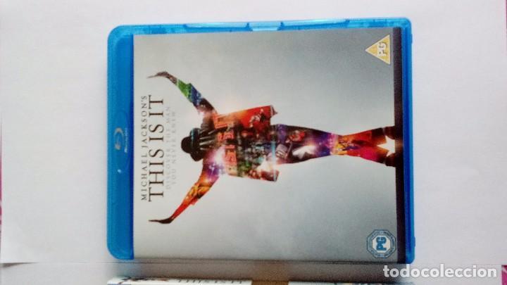 Vídeos y DVD Musicales: Michael Jackson This is it blu-ray uk - Foto 2 - 104599275