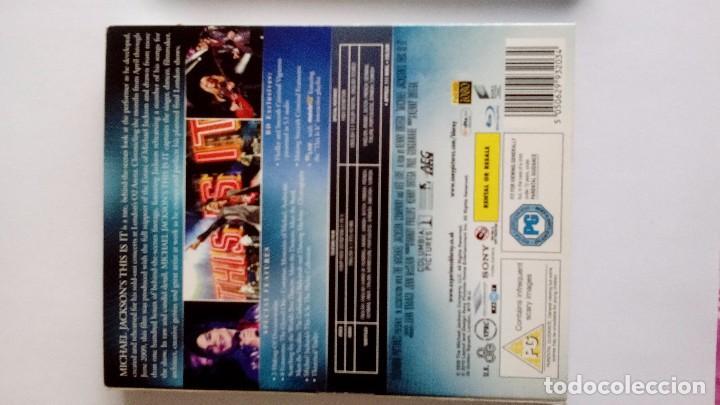 Vídeos y DVD Musicales: Michael Jackson This is it blu-ray uk - Foto 3 - 104599275