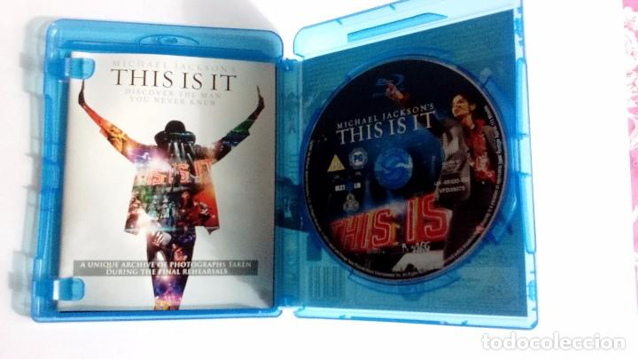 Vídeos y DVD Musicales: Michael Jackson This is it blu-ray uk - Foto 5 - 104599275
