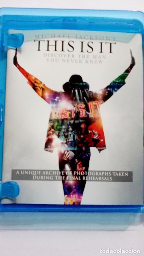 Vídeos y DVD Musicales: Michael Jackson This is it blu-ray uk - Foto 6 - 104599275