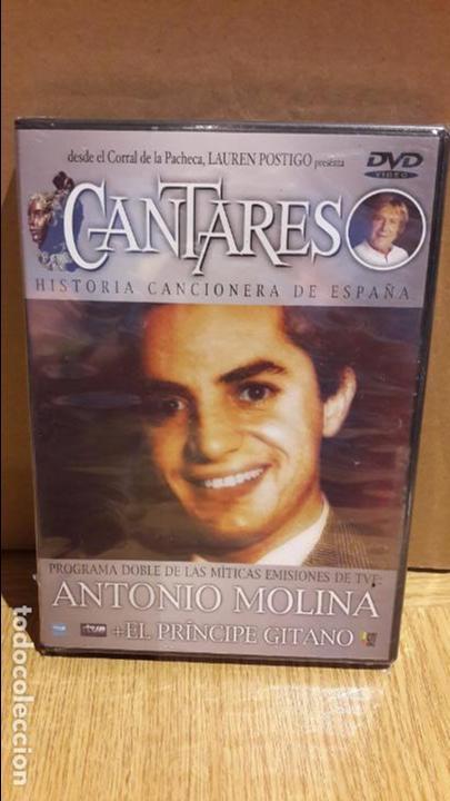 CANTARES / LAUREN POSTIGO / ANTONIO MOLINA + EL PRÍNCIPE GITANO / DVD - PRECINTADO. (Música - Videos y DVD Musicales)