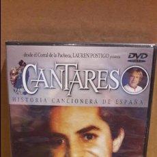 Vídeos y DVD Musicales: CANTARES / LAUREN POSTIGO / ANTONIO MOLINA + EL PRÍNCIPE GITANO / DVD - PRECINTADO.. Lote 171828328
