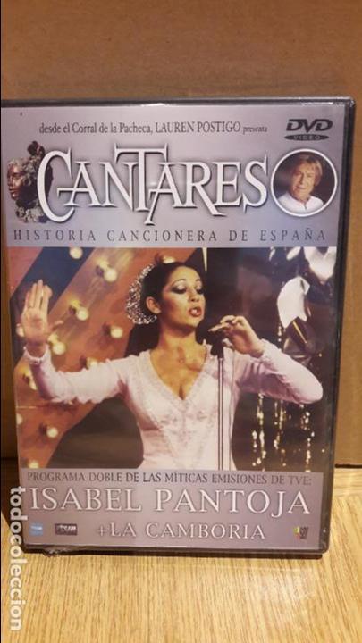 CANTARES / LAUREN POSTIGO / ISABEL PANTOJA + LA CAMBORIA / DVD - PRECINTADO. (Música - Videos y DVD Musicales)