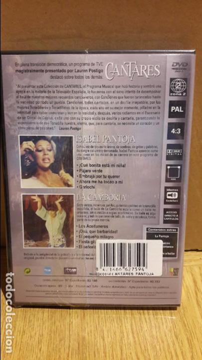 Vídeos y DVD Musicales: CANTARES / LAUREN POSTIGO / ISABEL PANTOJA + LA CAMBORIA / DVD - PRECINTADO. - Foto 2 - 118653428