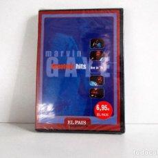 Vídeos y DVD Musicales: MARVIN GAYE - GREATEST HITS, LIVE IN '76 DVD PAL 1976 ESPAÑA, NUEVO PRECINTADO. . Lote 104782027