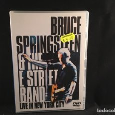 Vídeos y DVD Musicales: BRUCE SPRINGSTEEN & THE E STREET BAND - LIVE IN NEW YORK CITY - 2 DVD. Lote 124590236
