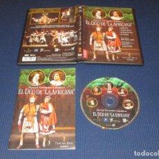 Vídeos y DVD Musicales: EL DUO DE LA AFRICANA - DVD - EDICION SA01035 - TEATRO REAL MADRID - MANUEL FERNANDEZ CABALLERO. Lote 105196795