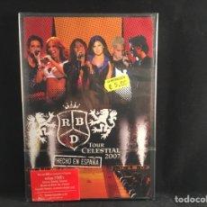 Video e DVD Musicali: RBD - TOUR CELESTIAL 2007 - 2 DVD. Lote 219858705