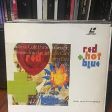 Vídeos y DVD Musicales: RED HOT BLUE LASER DISC TRIBUTO A COLE PORTER. Lote 105396283