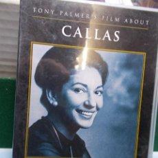 Vídeos y DVD Musicales: MARIA CALLAS DVD 30 ANIVERSARIO PORTRAIT BY TONY PALMER COMO NUEVO. Lote 105700543