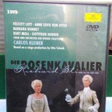 Vídeos y DVD Musicales: DER ROSENKAVALIER EL CABALLERO DE LA ROSA DVD RICHARD STRAUSS CARLOS KLEIBER COMO NUEVO. Lote 105700647