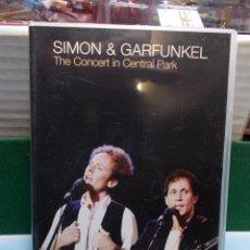 Vídeos y DVD Musicales: CONCIERTO EN CENTRAL PARK SIMON Y GARFUNKEL AÑOS 80 DVD COMO NUEVO. Lote 105700687