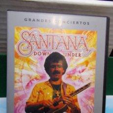 Vídeos y DVD Musicales: SANTANA CONCERT DOWN UNDER AT SIDNEY 1979 DVD COMO NUEVO. Lote 105700707