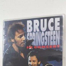 Vídeos y DVD Musicales: BRUCE SPRINGSTEEN IN CONCERT DVD 114 MINUTOS. Lote 105990751
