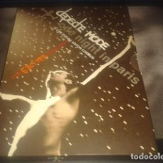 Vídeos y DVD Musicales: DEPECHE MODE( ONE NIGHT IN PARIS THE EXCITER TOUR 2001) PIAS 2002 -2 × DVD,-VIDEO, PAL, MULTICHANNEL. Lote 106897007