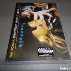 Vídeos y DVD Musicales: MADONNA: DROWNED WORLD TOUR 2001 - DVD VIDEO . Lote 106993431
