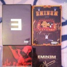 Vídeos y DVD Musicales: LOTE 4 DVD EMINEM. Lote 107209731