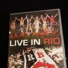 Vídeos y DVD Musicales: RBD DVD LIVE IN RIO REBELDES + ENVIO 5€C.N. EUROPA 10.40 Y RESTO PAISES 14 €. Lote 107612878