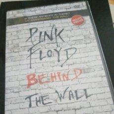 Vídeos y DVD Musicales: PINK FLOYD / DVD / BEHIND THE WALL / PRECINTADO. Lote 107719578
