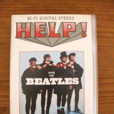 Vídeos y DVD Musicales: THE BEATLES HELP! PELÍCULA VHS V.O.. Lote 107840351