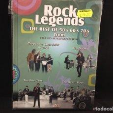 Vídeos y DVD Musicales: ROCK LEGENDS FROM ED SULLIVAN SHOW VOL 2 - DVD. Lote 109375714