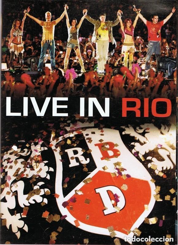 RBD DVD LIVE IN RIO (Música - Videos y DVD Musicales)