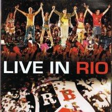 Vídeos y DVD Musicales: RBD DVD LIVE IN RIO. Lote 109665959