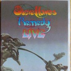 Vídeos y DVD Musicales: STEVE HOWE REMEDY - LIVE, EN DIRECTO -135 MINUTOS DE DURACIÓN - DVD. Lote 109726055