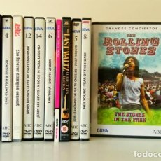 Vídeos y DVD Musicales: LOTE 11 DVD ROCK: ROLLINGS STONES, THE BAND, THE BYRDS, NEIL YOUNG, JONN LENNON, ERIC CLAPTON.... Lote 109850563