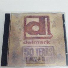 Vídeos y DVD Musicales: DELMARK 50 YEARS OF JAZZ AND BLUES DVD ( 2003 ) SLEEPY JOHN ESTES 50 MINUTOS EXCELENTE ESTADO. Lote 110144883