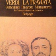 Vídeos y DVD Musicales: LA TRAVIATA - PAVAROTTI - ESTUCHE 2 CASSETTES. Lote 110255075