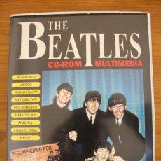 Vídeos y DVD Musicales: THE BEATLES CD-ROM MULTIMEDIA. Lote 110421123