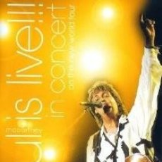 Vídeos y DVD Musicales: PAUL MCCARTNEY IS LIVE!!! IN CONCERT ON THE NEW WORLD TOUR (DVD). Lote 110561415