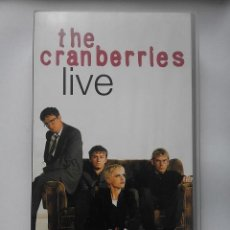 Vídeos y DVD Musicales: THE CRANBERRIES - LIVE (VHS). Lote 110713891