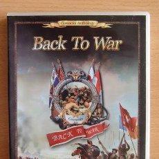 Vídeos y DVD Musicales: BACK TO WAR GOSSACKS ANTHOLOGY.. Lote 110809039