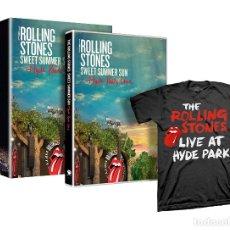 Vídeos y DVD Musicales: THE ROLLING STONES * BOX SET DVD + CAMISETA * CAJA PRECINTADA * LTD AGOTADA. Lote 219665786