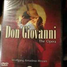 Vídeos y DVD Musicales: DVD DON GIOVANNI THE OPERA. Lote 110836443