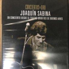 Vídeos y DVD Musicales: DVD CONCIERTOS DE ORO JOAQUIN SABINA EN CONCIERTO DESDE EL TEATRO GRAN REX BUENOS AIRES. Lote 110948951