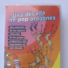 Vídeos y DVD Musicales: UNA DECADA DE POP ARAGONES HEROES DEL SILENCIO EL NIÑO GUSANO NIÑOS DEL BRASIL DISTRITO 14 BUNBURY. Lote 218162643