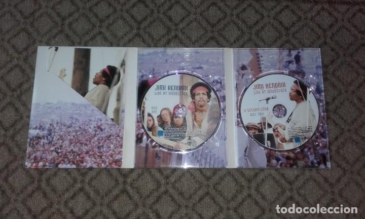 2 DVD Jimi hendrix-live at woodstock