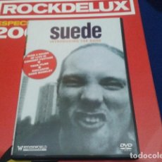 Vídeos y DVD Musicales: SUEDE ( INTRODUCING THE BAND ). ) 2002 SUEDE. Lote 111380235