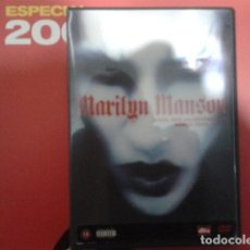 Vídeos y DVD Musicales: MARILYN MANSON ( GUNS, GOD AND GOVERNMENT WORLD TOUR ) 2002 EAGLE VISION. Lote 111380567