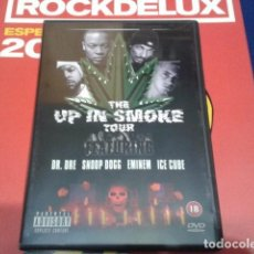 Vídeos y DVD Musicales: THE UP IN SMOKE TOUR ( DR. DRE, SNOOP DOGG, EMINEN, ICE CUBE ) 2000 EAGLE VISION. Lote 111380691