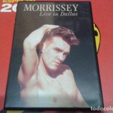 Vídeos y DVD Musicales: MORRISSEY ( LIVE IN DALLAS ) 2000 EMI. Lote 111380875