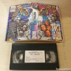 Vídeos y DVD Musicales: VHS ORIGINAL - METALLICA - VHS - A YEAR AND A HALF IN THE LIFE OF - HEAVY METAL - VOL 1. Lote 111933567