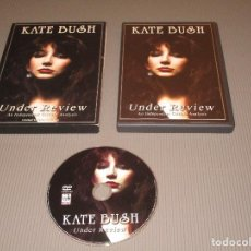 Vídeos y DVD Musicales: KATE BUSH ( UNDER REVIEW AN INDEPENDENT CRITICAL ANALYSIS ) - DVD - SIDVD502 - LIMITED COLLECTOR'S. Lote 112530979