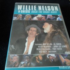 Vídeos y DVD Musicales: WILLIE NELSON DVD BOB DYLAN. Lote 112769763