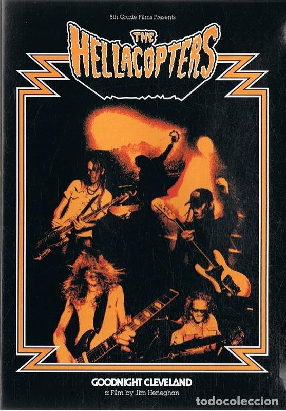 DVD THE HELLACOPTERS GOODNIGHT CLEVELAND (Música - Videos y DVD Musicales)